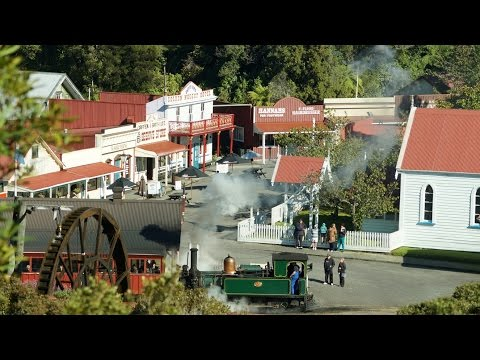 Shantytown Hertitage Park – Greymouth, West Coast, New Zealand