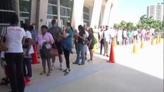 Early Voting in Miami Dade County, Florida