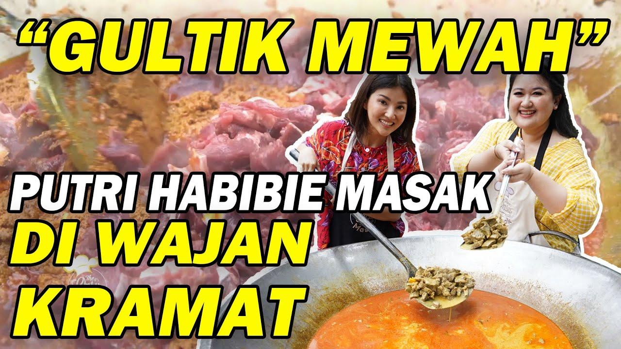 The Onsu Masak - Putri Habibie masak Gultik Mewah!! Langsung di WAJAN KRAMAT Sarwendah!!!