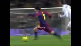 Ramos horror tackle on Messi😈👑💪