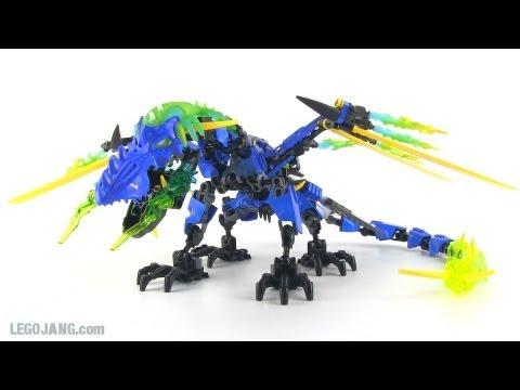 Hero Factory Dragon Bolt upgrade - +Surge combination MOC - YouTube