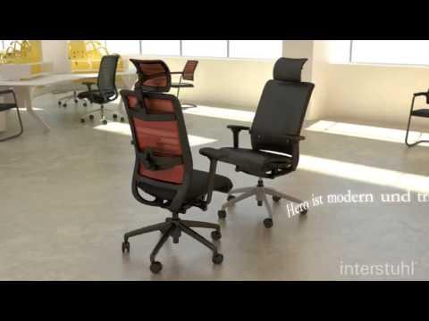 Interstuhl bureaustoel Hero - Shiraz Office Furniture