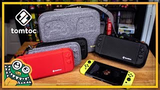 Tomtoc Nintendo Switch Cases - List and Overview + GIVEAWAY!