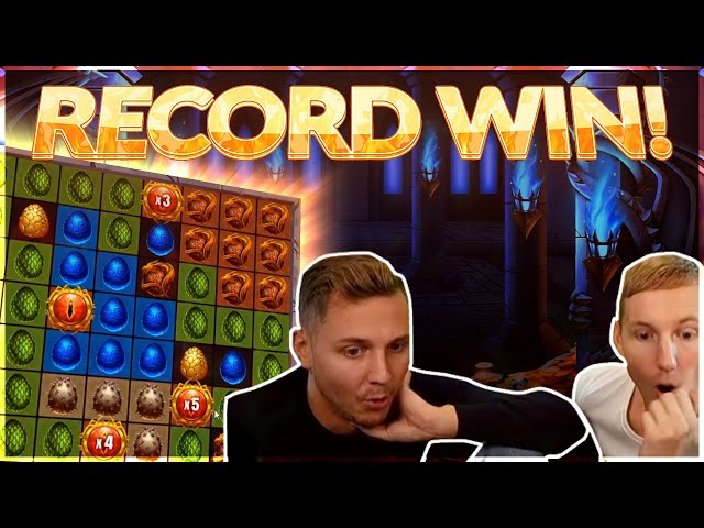 Record Win! Dragon Fall Big win - MEGA WIN - Online Slot from Casinodaddy Live Stream