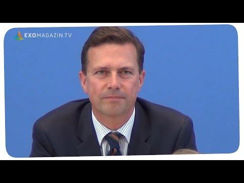 Was weiss die Bundesregierung über UFOs und Aliens - Frage an Regierungssprecher Steffen Seibert