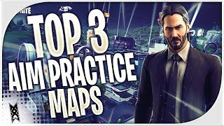 TOP 3 Best AIM PRACTICE Creative MAPS IN Saison 9 Fortnite (fr) Comment améliorer les CODES de carte de but