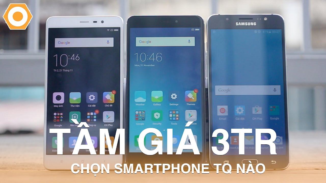 Mua Redmi Note 3 Pro, Redmi Note 4 hay Samsung J7 2016??