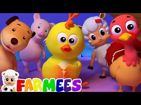 Nursery Rhymes & Kids Songs | Farmees | Baby Cartoon Videos | Babies Learning | Children Songs