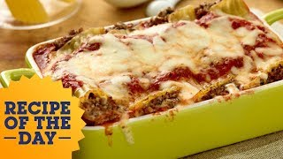 Recipe of the Day: Giada's Beef and Cheese Manicotti | Food Network