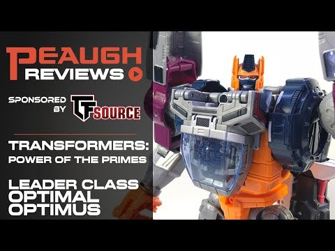 Video Review: Transformers: Power of the Primes - Leader Class OPTIMAL OPTIMUS