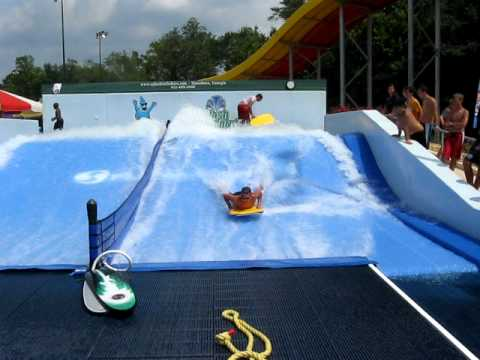Robert Riding Flo Rider At Splash In The Boro Statesboro Ga Youtube