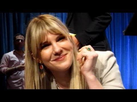 Lily Rabe with  at Paleyfest