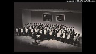 1976年6月25日 第3回一橋大学コールメルクール、神戸大学グリークラブジ...
