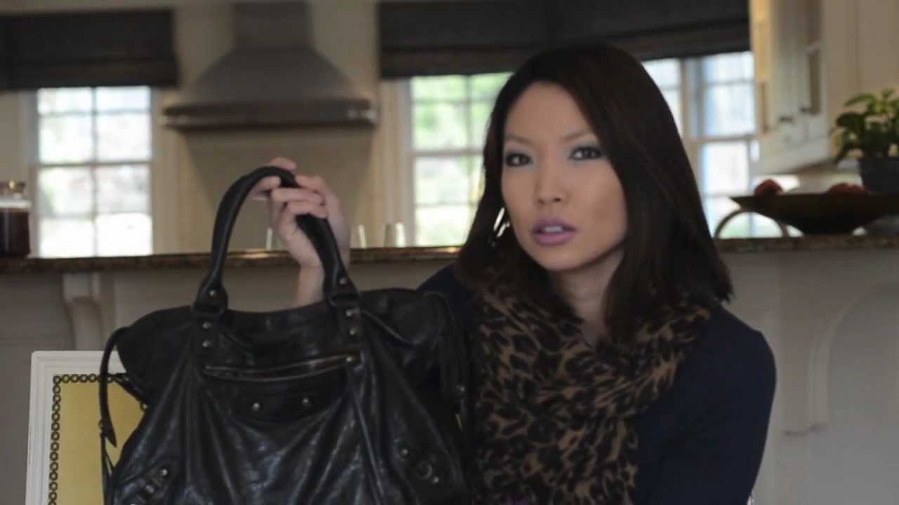 fbe9de4b6571 My Favorite Bag  Balenciaga City Bag Review - YouTube