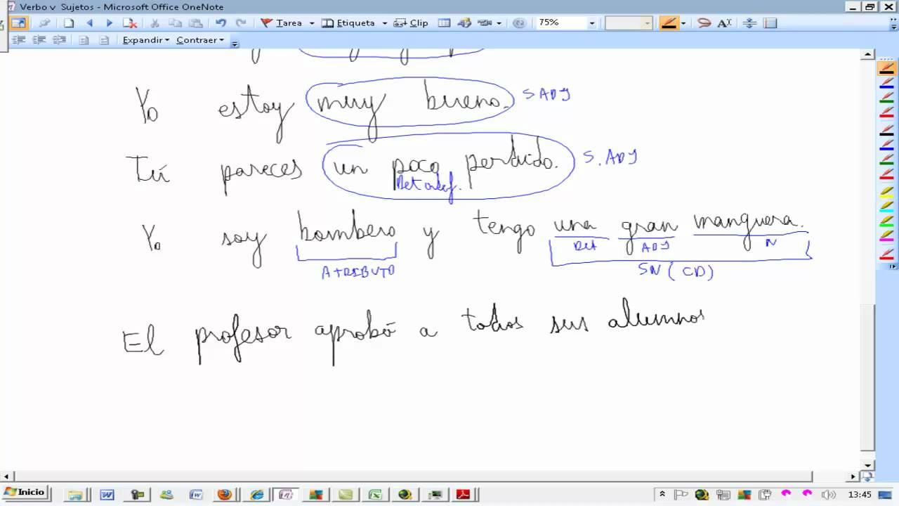 Análisis Oraciones Complemento Agente Oración Pasiva Lengua 3º Eso Ainte Ezequiel Fernández