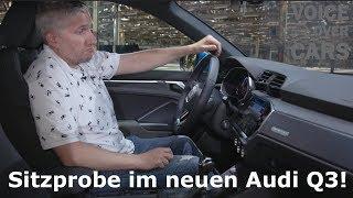 2018 Audi Q3 - Das neue Modell - Fakten Infos Sitzprobe Voice over Cars News