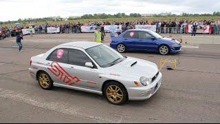 Subaru Impreza WRX STi vs Mitsubishi Lancer Evolution VIII