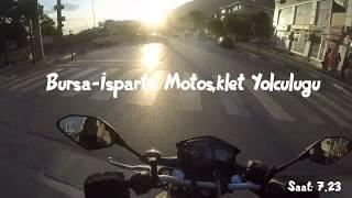 BURSA ISPARTA Motosiklet Yolculuğu (MT-25)