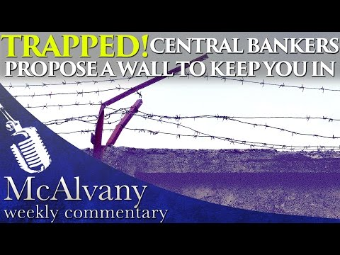 Trapped! Central Bankers Propose a Wall to Keep You In | McAlvany Commentary 2016