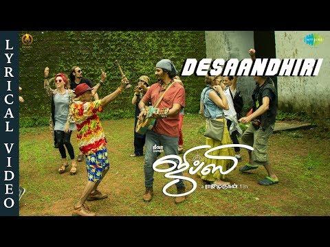 Desaandhiri | Lyrical | Jiiva | Santhosh Narayanan | Raju Murugan | Natasha Singh