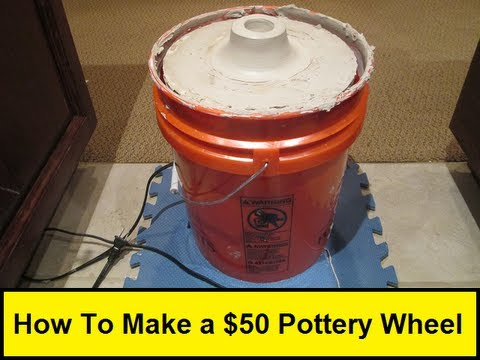 How To Make a $50 Pottery Wheel (HowToLou.com)