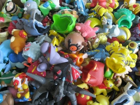 Les figurines pokemon de Smashou