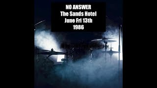 Cheap Wine - NO ANSWER Live @ The Sands Hotel June 13th 1986