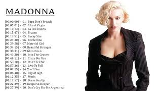 Madonna Like A Virgin Tour || Madonna Greatest Hits 2019