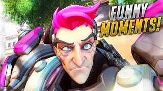200 ALL TIME FUNNIEST Overwatch MOMENTS