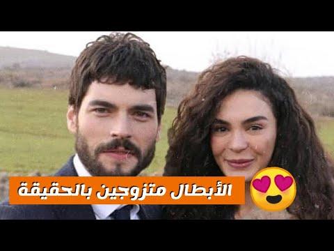 شاهد أزواج و زوجات أبطال مسلسل زهرة الثالوث و مفاجأة حلوة Youtube