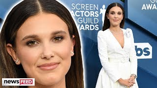 Millie Bobby Brown CRTICIZED For Adult Style!