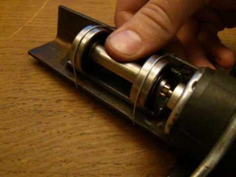 test du moteur pour la trotinette electrique youtube. Black Bedroom Furniture Sets. Home Design Ideas
