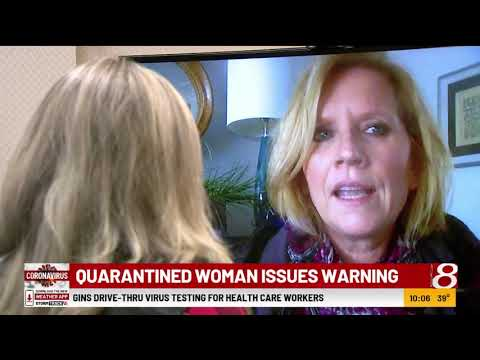 Quarantined Woman In Fishers, Indiana, Issues Warning