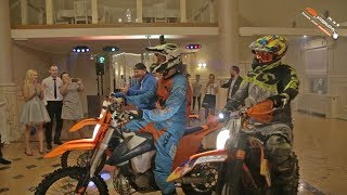 Wedding Interrupted by Dirtbikers
