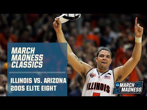 Illinois Vs. Arizona: 2005 Elite Eight | FULL GAME