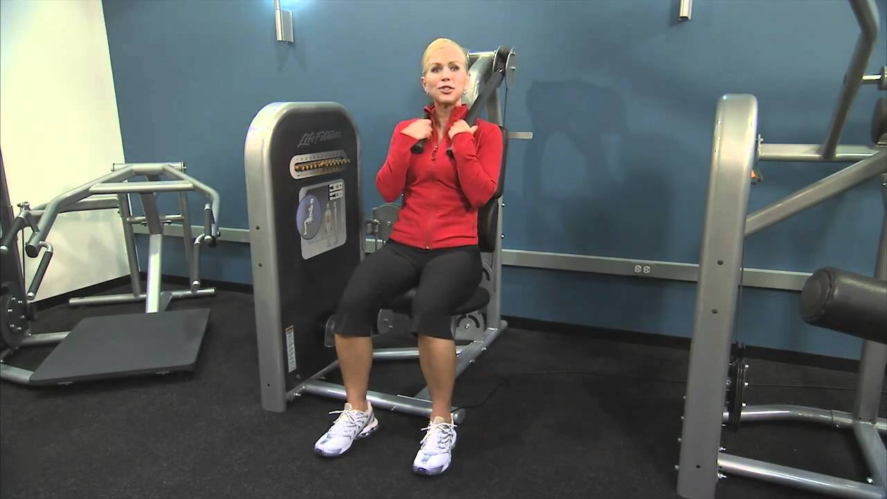 Life Fitness Circuit Series Ab Crunch Instructions Youtube
