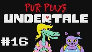 Let's Play: Undertale (part 16) Dinner Date with Sans and Burgerpants