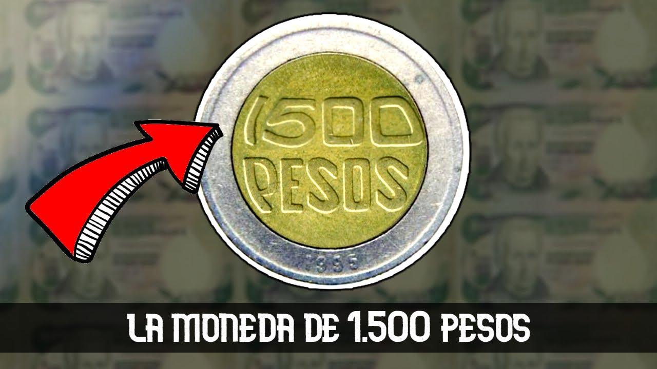 La moneda de 1.500 PESOS existe?