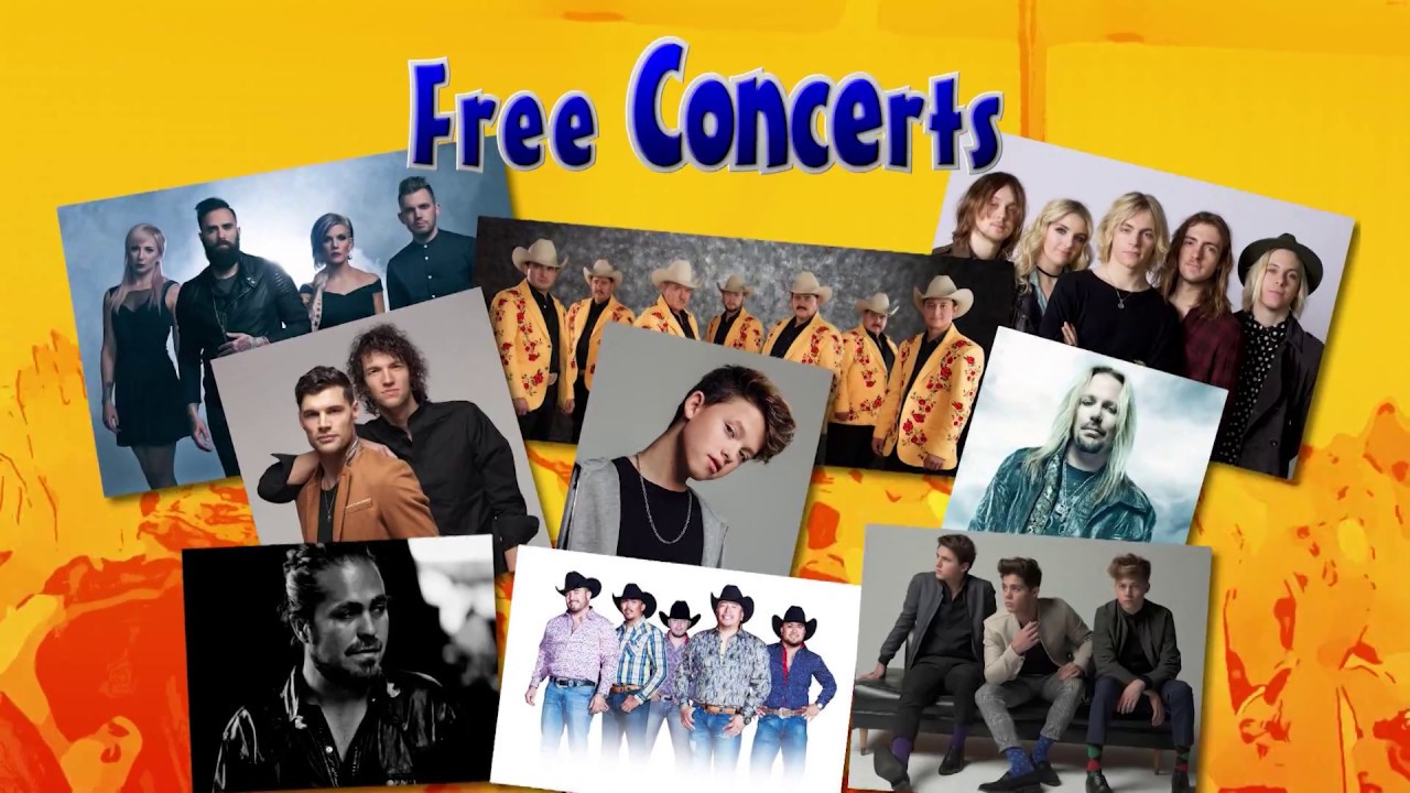 Elitch Gardens 2017 Concert Series Free With A Season Pass Youtube
