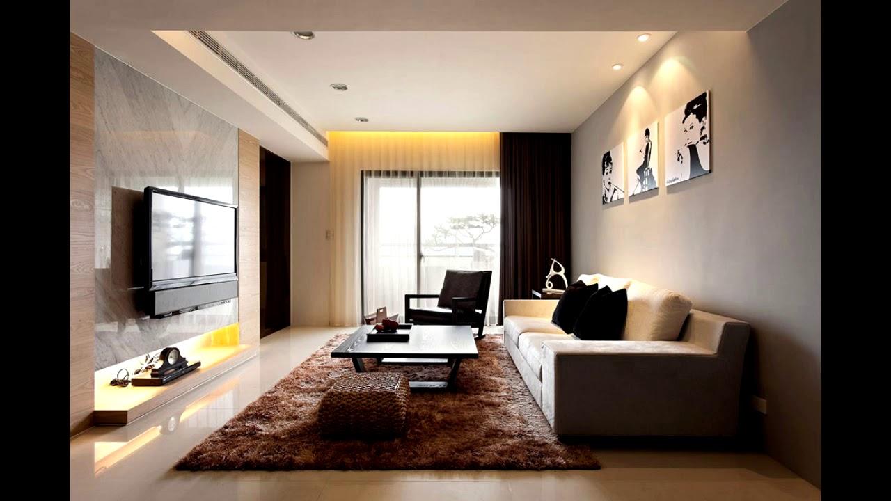 decoratie woonkamer modern - YouTube