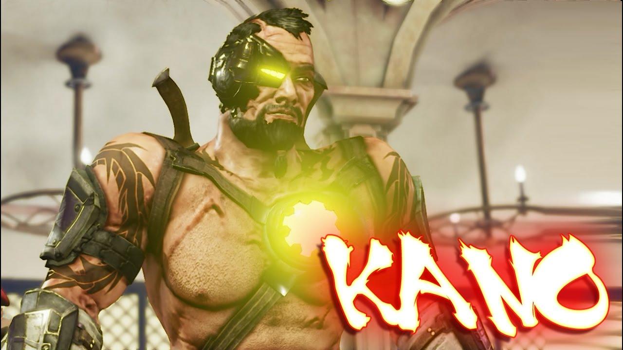 Street Fighter V PC mods - Kano (mortal kombat)