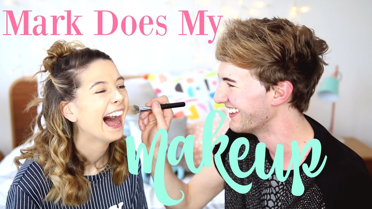 Mark Does My Makeup | Zoella - YouTube
