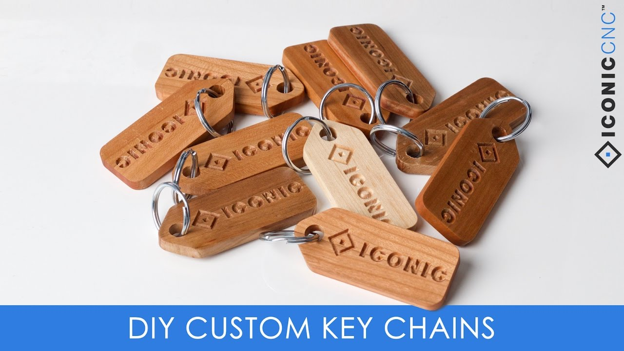 Carving Custom Key Chains On A Cnc Machine