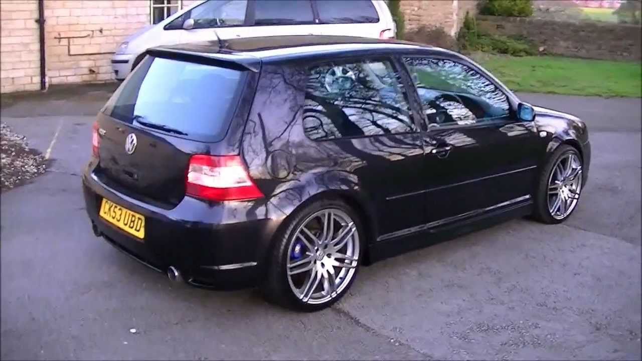 vw golf r32 v6 4motion with 19 audi rs4 alloys mk4 2004. Black Bedroom Furniture Sets. Home Design Ideas