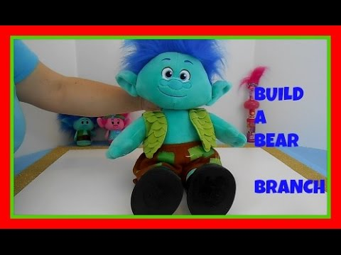 Build a Bear Trolls Branch Teddys