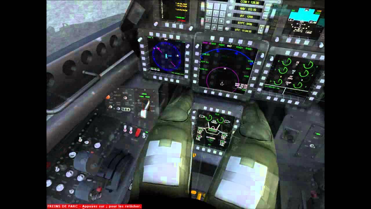 F 22 Raptor >> FSX IRIS F-22 RAPTOR start up - YouTube