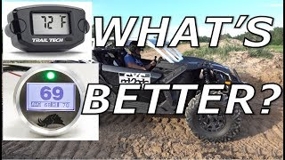 Trail Tech ATV UTV Snowmobile CVT Clutch Belt Temperature Temp Gauge Meter