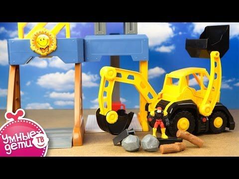 Мультики про машинки, трактора и паровозики