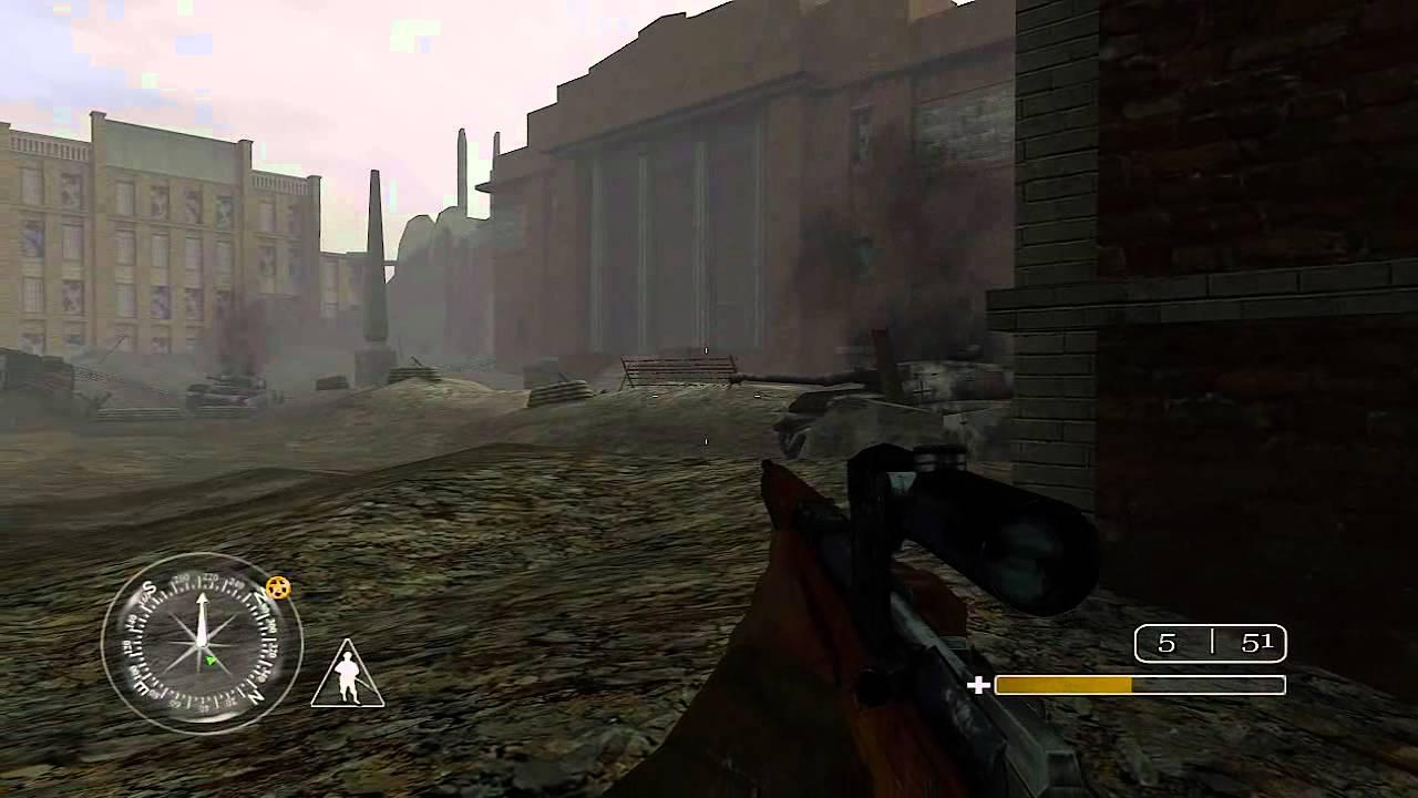 'Red Square' Call of Duty Classic Veteran Walkthrough
