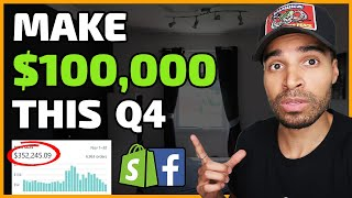 The $100,000 Q4 Shoṗify Dropshipping Blueprint   COMPLETE STRATEGY